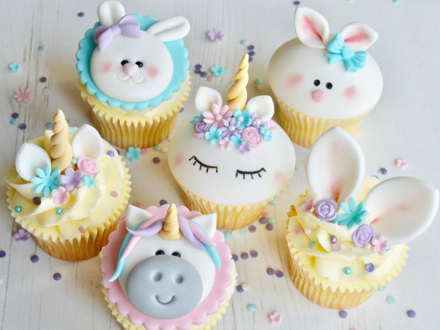 Parent & Child Cupcake Class - Unicorns & Bunnies - Sold Out