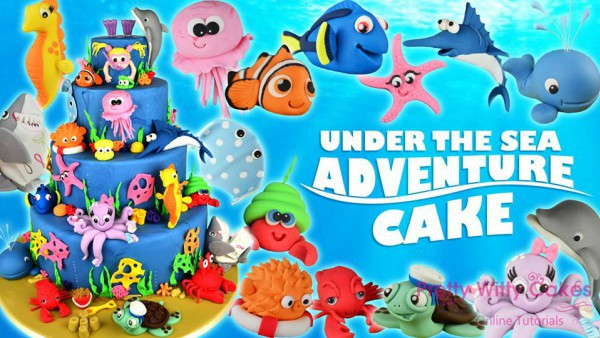 Under the Sea Adventure Cakes